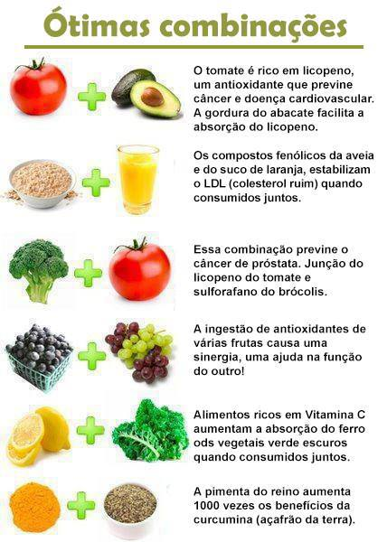 Combinação de alimentos