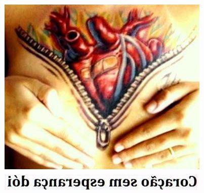 O coração, sem esperança, dói...